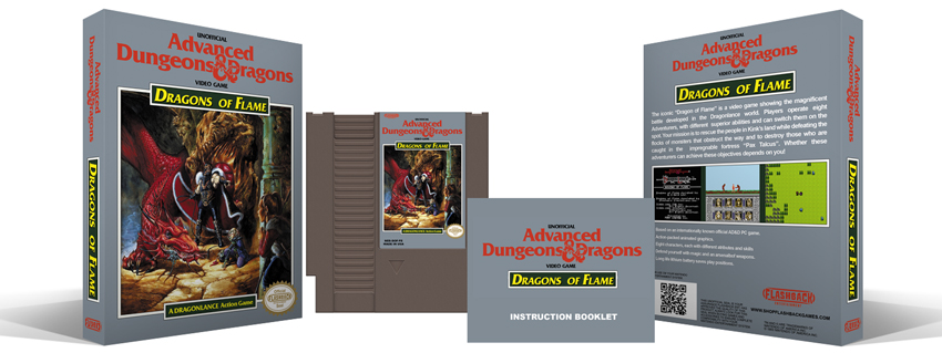 Advanced Dungeons & Dragons : Dragons of Flame Complete Box Set