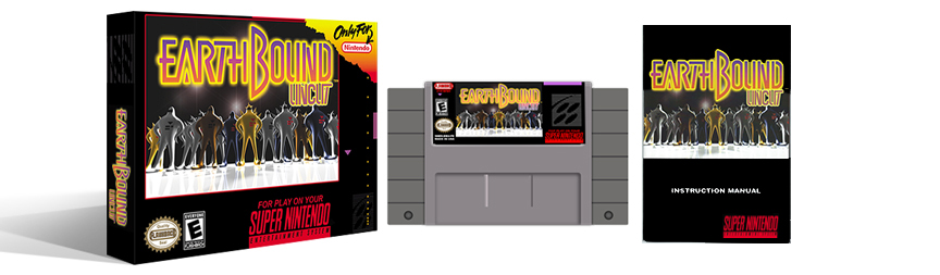 Earthbound Uncut Complete Box Set