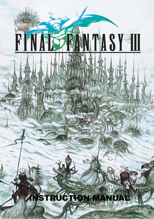 Final Fantasy 3 Manual