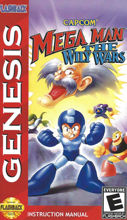 Mega Man : The Wily Wars Manual