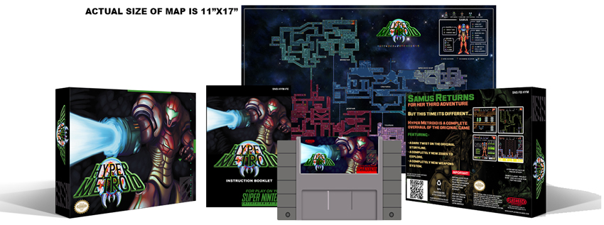Hyper Metroid Complete Box Set - Click Image to Close