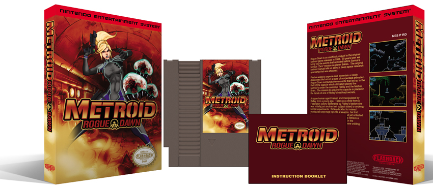 Metroid Rogue Dawn Complete Box Set