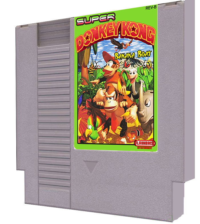 Super Donkey Kong: Banana Boat - Click Image to Close