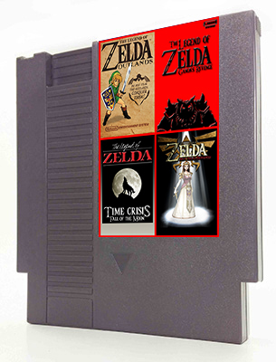 Legend of Zelda 4 in 1 MEGA CART