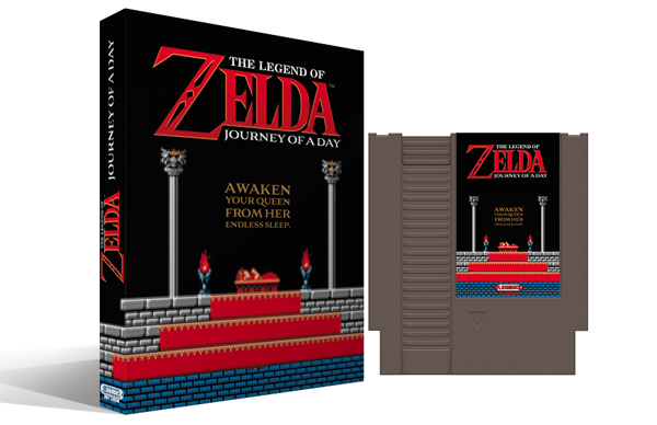 Legend of Zelda : Journey of a Day Box