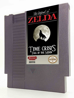 Legend of Zelda: Time Crisis Fall of the Moon
