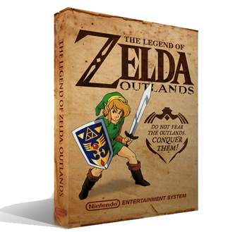 Zelda Outlands Box