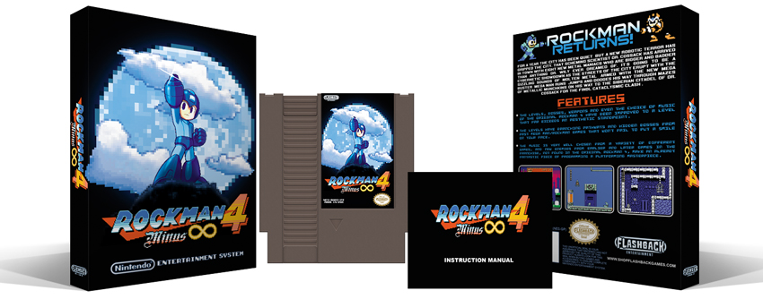 Rockman 4 Minus Infinity Complete Box Set - Click Image to Close