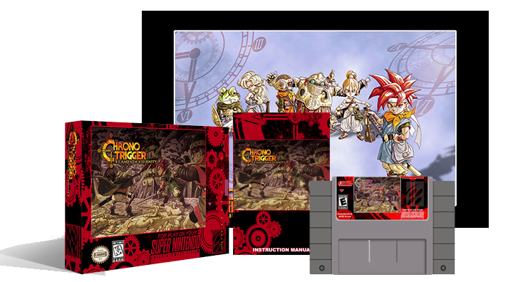 Chrono Trigger Flames of Eternity Complete Box set - Click Image to Close