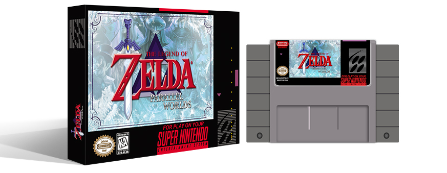 Zelda Parallel Worlds Complete Box Set