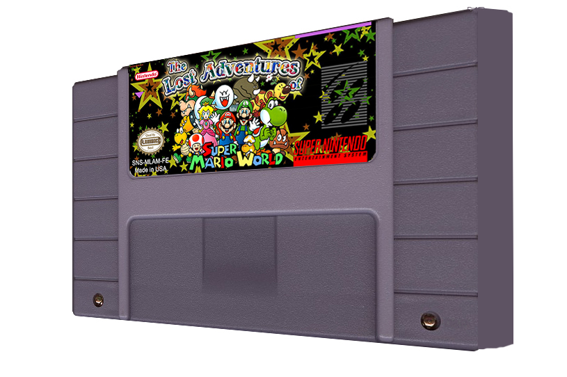 Super Mario World : Lost Adventures Multi Cart