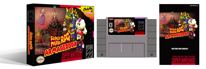 Super Mario RPG : Armageddon V8 Complete Box Set