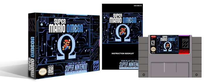 Super Mario Omega Complete Box Set