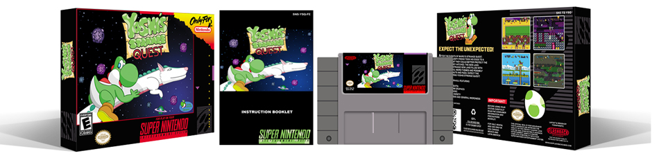 Yoshi's Strange Quest Complete Box Set - Click Image to Close
