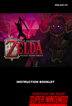 Zelda Ancient Stone Tablets Manual