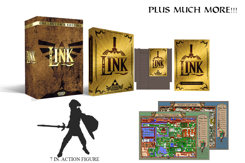 Zelda : The Legend of Link Collectors Edition - Click Image to Close