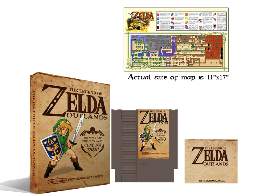 Zelda : Outlands Complete Box Set