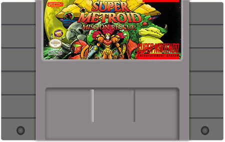 Super Metroid : Mission Rescue - $42 50 : Flashback