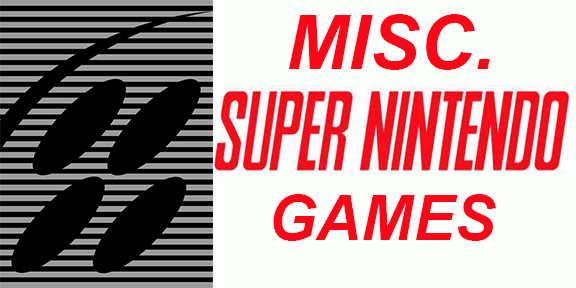 Misc. SNES Games