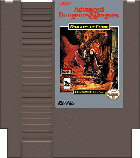 Dungeons & Dragons: Dragons of Flame - Click Image to Close