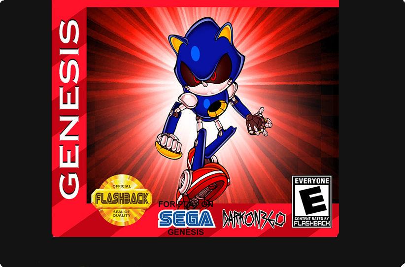 Metal Sonic Hyperdrive - Click Image to Close