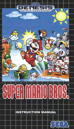 Super Mario Brothers Manual
