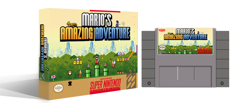 Mario's Amazing Adventure Complete Box Set