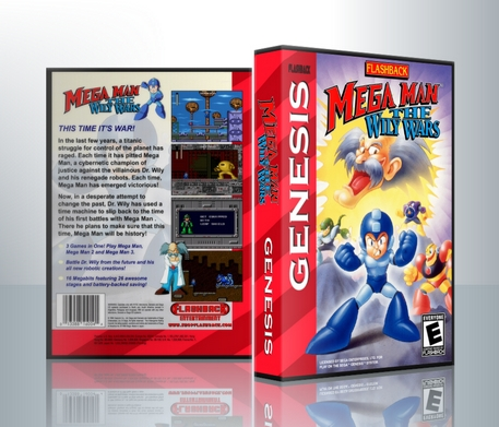 Megaman the Wily Wars Complete Box Set
