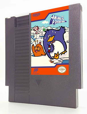 Antarctic Adventure 40 00 Flashback Entertainment Quality Nes Snes Reproduction Games And Cartridges