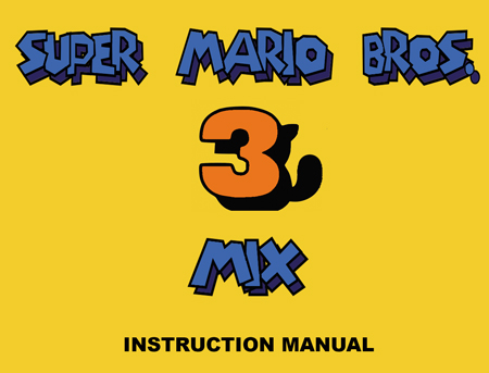 Super Mario Bros. 3 MIX Manual