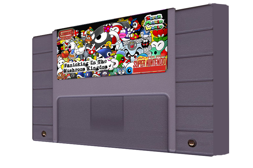 Panicking In The Mushroom Kingdom Multi-Cart