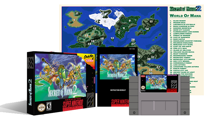 Secret of Mana 2 Complete Box Set