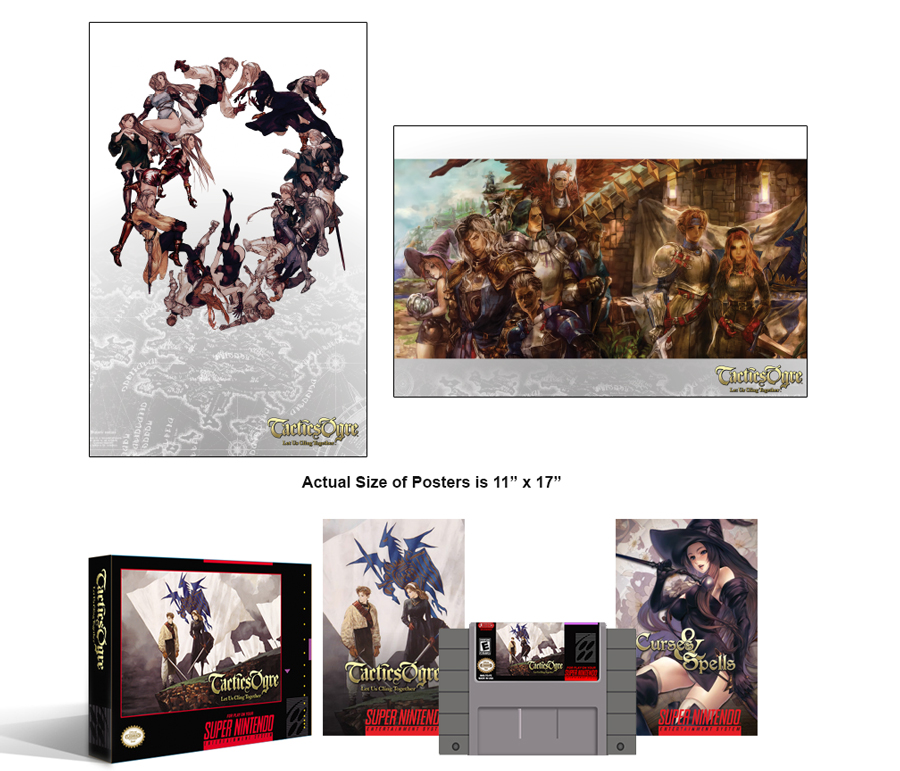 Tactics Ogre: Let Us Cling Together Complete Box Set