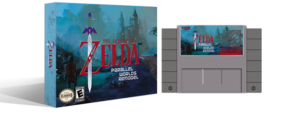 Zelda Parallel Worlds Remodel Box