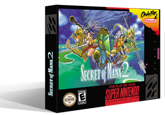 Secret of Mana 2 Manual