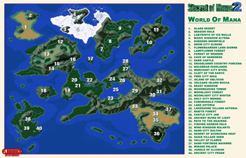 Secret of Mana 2 Map