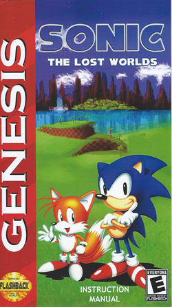 Sonic : The Lost Worlds manual