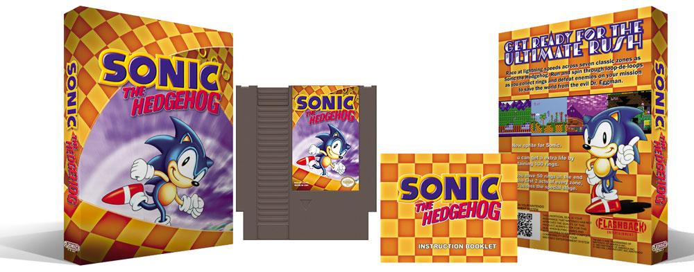 Sonic The Hedgehog Complete Box Set
