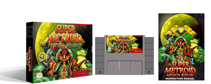 Super Metroid : Mission Rescue Complete Box Set