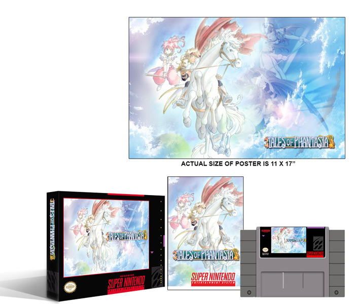 Tales of Phantasia Complete Box Set