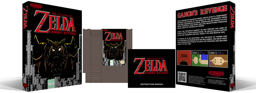 Legend of Zelda : Ganon's Revenge Complete Box Set